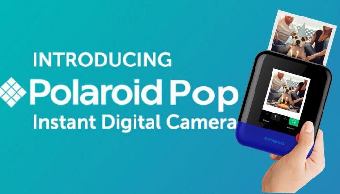 camara polaroid pop
