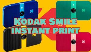 kodak smile instant print