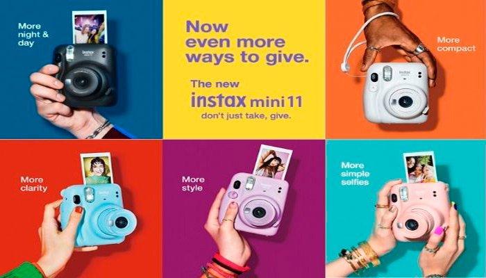 instax mini 11 colores