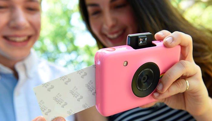 cámara fotos instantanea polaroid Snap touch