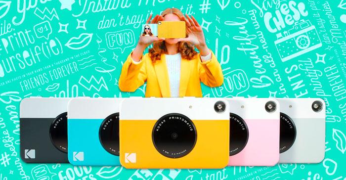 camara instantanea Kodak Printomatic
