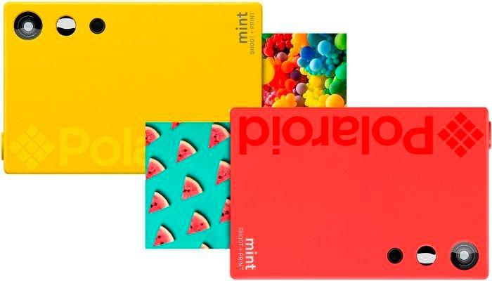 polaroid mint amarilla