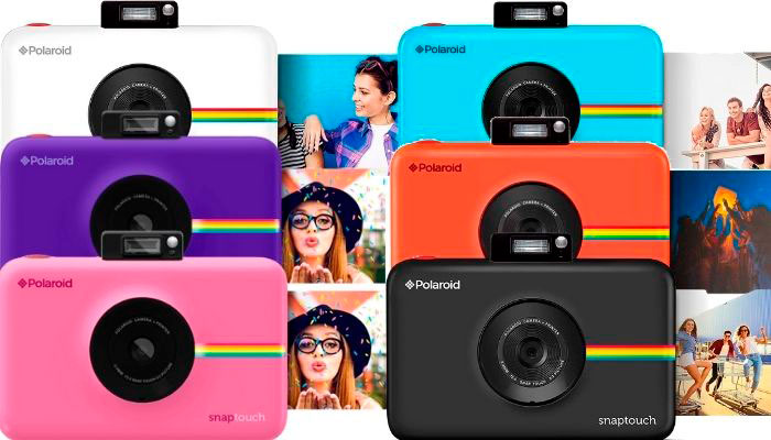 colores polaroid snap touch