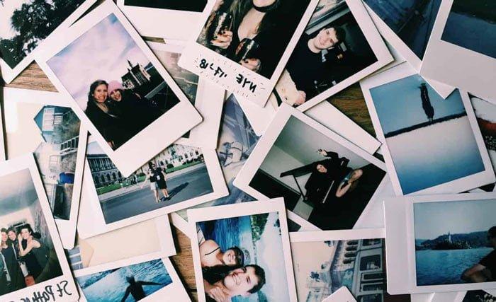 trucos para sacar fotos polaroid
